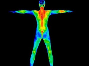 Thermography can detect subtle changes in body